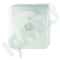 Dispenser t/jumbo toiletruller, Maxi, hvid