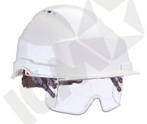 IRIS 2 OBX sikkerhedshjelm med visir (Førpris 507,-)