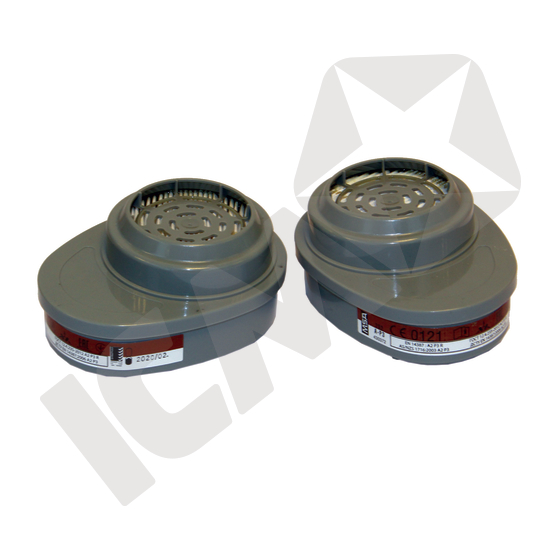 Advantage kombifilter A2P3