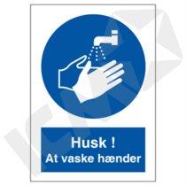 P218VA5 Husk! At vaske hænder  A5