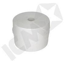 BlueStar Industrirulle - standard, Hvid, 2-lags, 29cm x 760m, 2000 ark