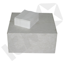 BlueStar Linttex 1/4-Foldet Hvid 36,5 x 30 cm
