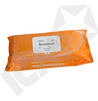 Plum WipeClean Ethanol Desinfektion 80%, 20x20cm pk/100
