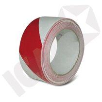 Gulvtape Tofarvet Rød/Hvid