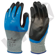 Showa S-Tex 376 Dobbeltdyppet Handske