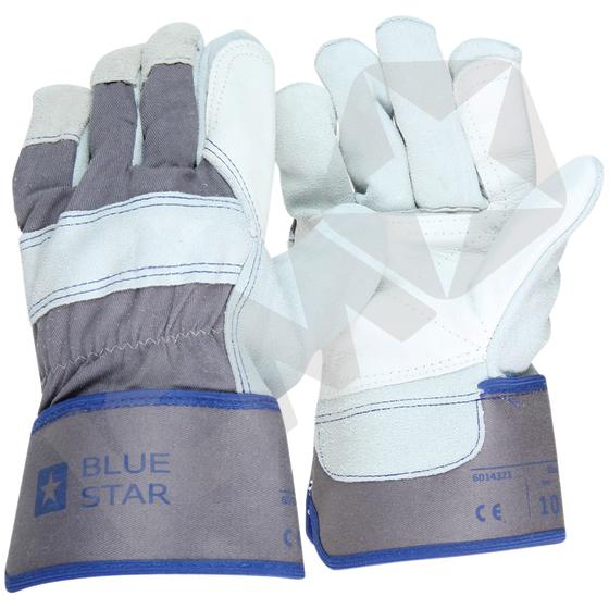 BlueStar Rock Oksehud Handske