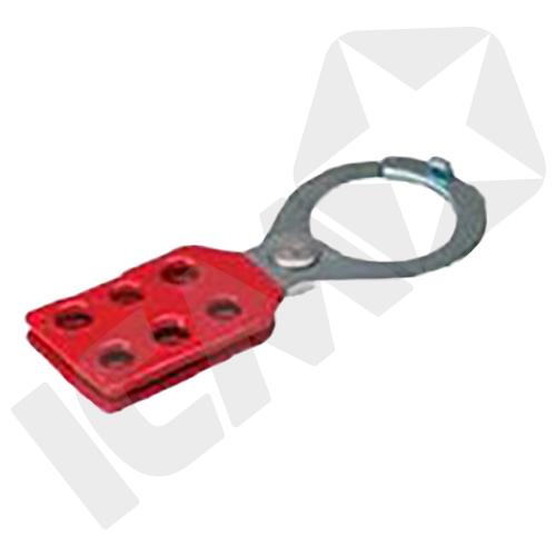 Brady Metal Lock Out Hasp 25 mm Åbning Rød