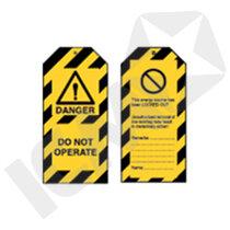 """Brady LOTO Skilt """"Danger do not operate"""""""